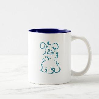 Miniature White Schnauzer Coffee Mug