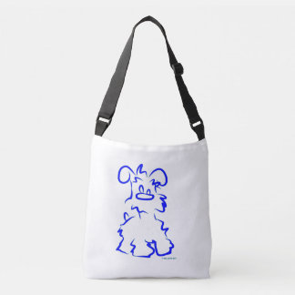 Miniature White Schnauzer Tote Bag