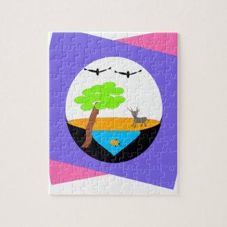 miniature world jigsaw puzzle
