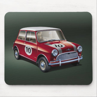 MiniCooper S1 Red Mouse Pad