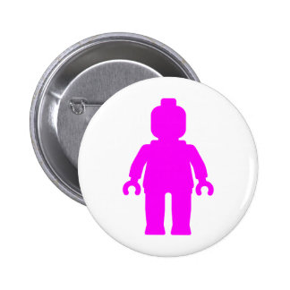 Minifig [Dark Pink] by Customize My Minifig Buttons