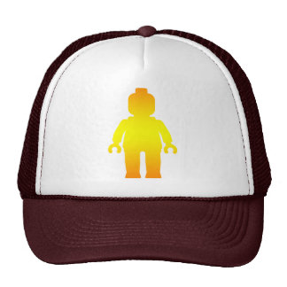 Minifig [Golden] by Customize My Minifig Trucker Hat