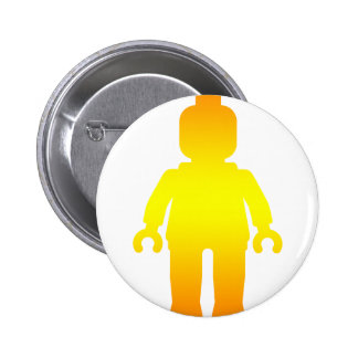 Minifig [Golden] by Customize My Minifig Pin