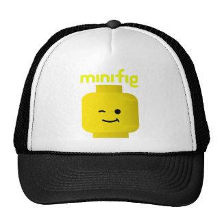 MINIFIG HEAD TRUCKER HATS