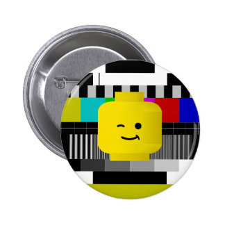 Minifig Head TV Test Transmission Buttons