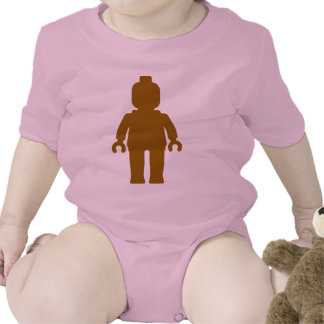 Minifig [Large Brown] by Customize My Minifig Bodysuit