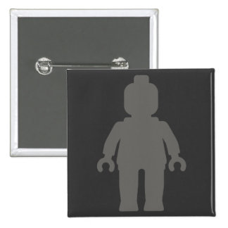 Minifig [Large Dark Grey] by Customize My Minifig Pins