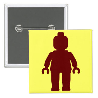 Minifig [Large Dark Red] by Customize My Minifig Buttons