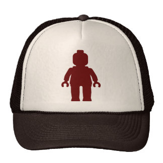 Minifig [Large Dark Red] by Customize My Minifig Mesh Hat