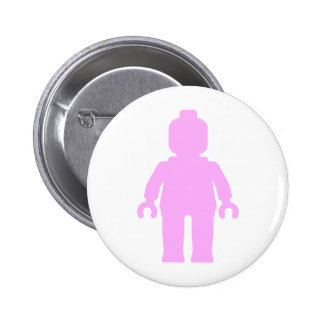Minifig [Large Light Pink] by Badges