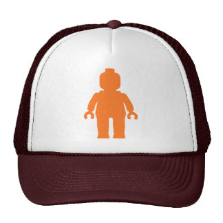 Minifig [Large Orange] by Customize My Minifig Mesh Hats