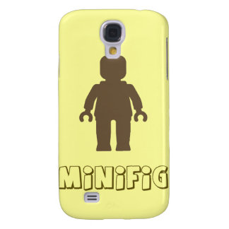 Minifig [Light Brown] by Customize My Minifig Galaxy S4 Case