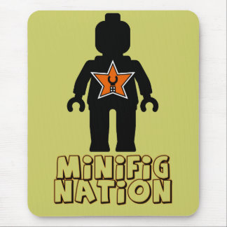 Minifig Nation by Customize My Minifig Mouse Pad