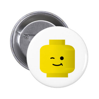Minifig Winking Head Button