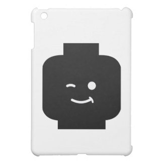 Minifig Winking Head by Customise My Minifig iPad Mini Cases