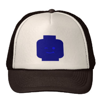 Minifig Winking Head by Customize My Minifig Hat