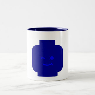 Minifig Winking Head by Customize My Minifig Mugs