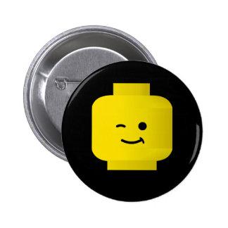 Minifig Winking Head Pin