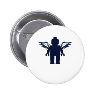 MINIFIG WITH ANGEL WINGS by CUSTOMIZE MY MINIFIG Button