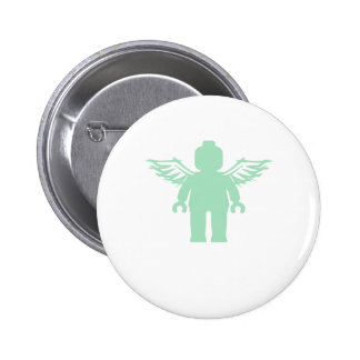 MINIFIG WITH ANGEL WINGS by CUSTOMIZE MY MINIFIG Pin