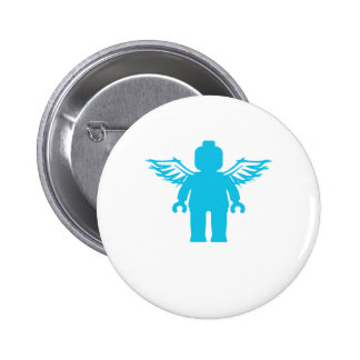 MINIFIG WITH ANGEL WINGS by CUSTOMIZE MY MINIFIG Buttons