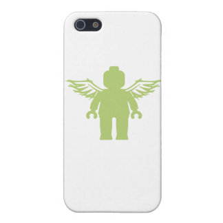 MINIFIG WITH ANGEL WINGS by CUSTOMIZE MY MINIFIG Cover For iPhone 5