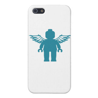 MINIFIG WITH ANGEL WINGS by CUSTOMIZE MY MINIFIG iPhone 5 Cases