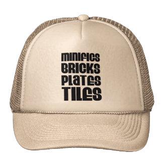 MINIFIGS BRICKS PLATES TILES MESH HATS