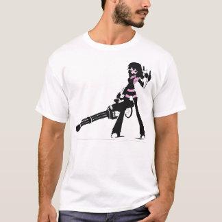 minigun manga chick T-Shirt