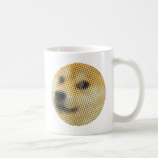 Minimal/abstract doge coffee mug