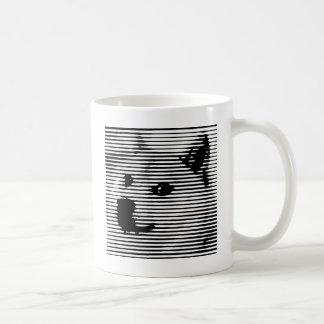 Minimal/abstract doge mug