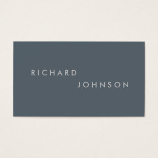 Minimal and Modern Business Card