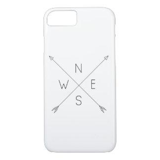 Minimal Arrow compass marries iPhone 7 Case