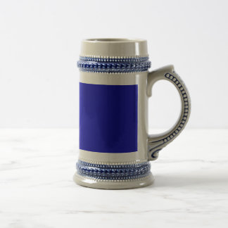 Minimal Art Color Dark Blue Coffee Mug
