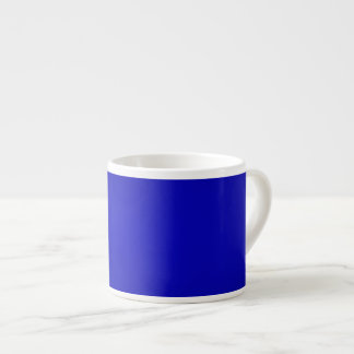 Minimal Art Color Dark Blue Espresso Mug