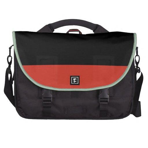 Minimal art commuter bag