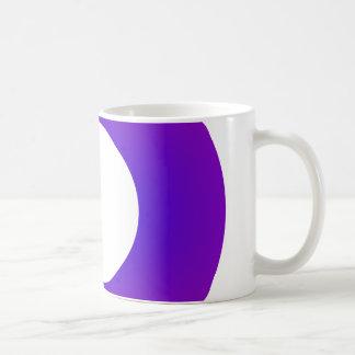 Minimal Art Ring Purple Coffee Mug