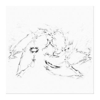 Minimal - B & W Canvas Prints