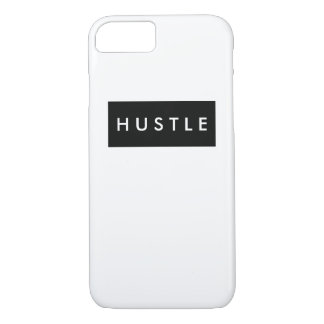 Minimal Black and White | Hustle iPhone 7 Case