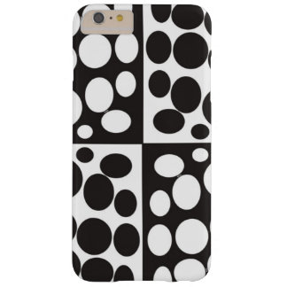 minimal black and white iphone case barely there iPhone 6 plus case