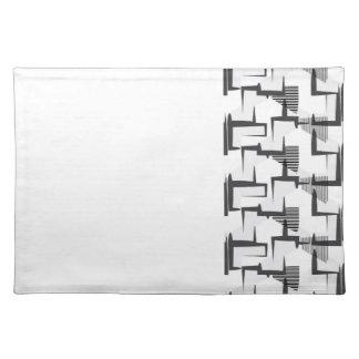 Minimal Black&White Placemats