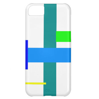 Minimal Blue Station iPhone 5C Cover