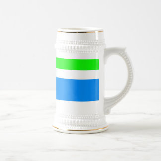 Minimal Blue Station Coffee Mugs