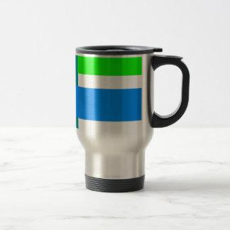 Minimal Blue Station Coffee Mug