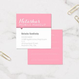 MINIMAL CARD simple modern clean bold pink