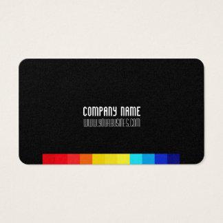 Minimal Classic Cube Business Card