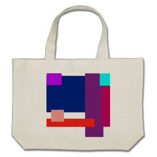 Minimal Colored Rectangles Bag