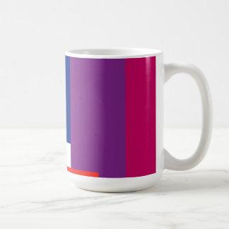 Minimal Colored Rectangles Mug