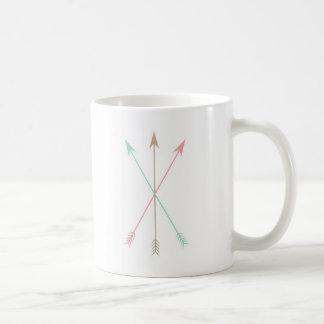 Minimal Coloured Arrows Coffee Mug