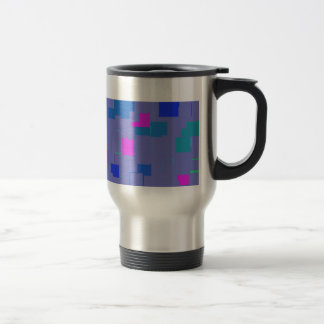 Minimal Cubed Stainless Steel Travel Mug